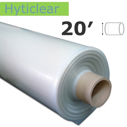 Image de Poly Hyticlear 7.2 mil 20' tube