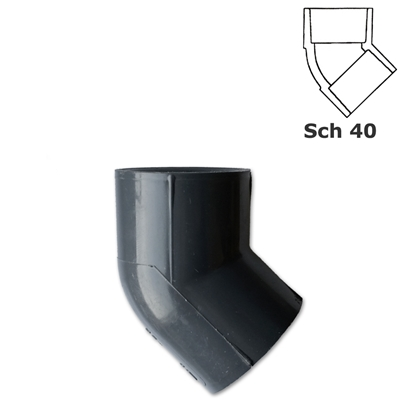 Picture of Socketed 45° elbow
