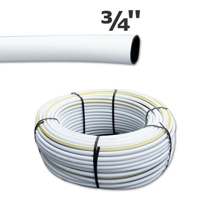 "Picture of White poly pipe 3/4"" (500')"