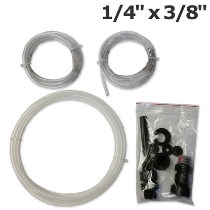 """Picture of I006 Hose 1/4""""x3/8""""  PVDF installation kit for up to 30L/h Grundfos DDA dosing pump"""