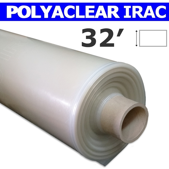 4 Year 6 Mil IRAC Plastic Greenhouse Poly Film 32 ft *VARIOUS