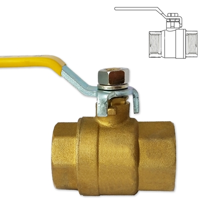 Picture of Brass female threaded check valve