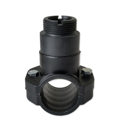 """Picture of Saddle 50mm for 2"""" pipe connection probe 1"""" MPT"""