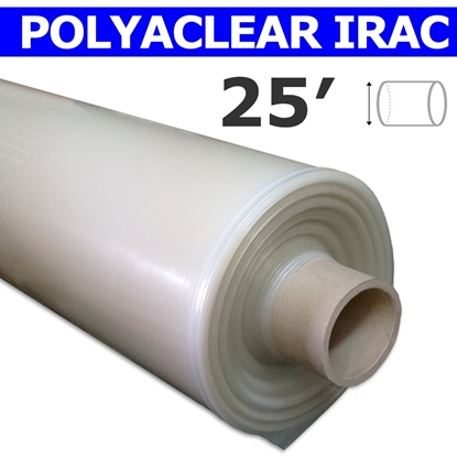 Image de Polyaclear IRAC 7.2 mil 25' tube