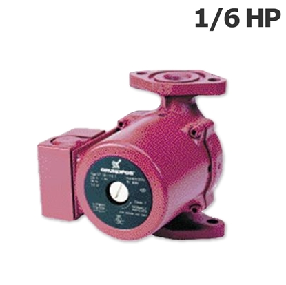 Picture of Grundfos hot water circulation pump 1/6HP 115V