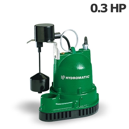 Image de Pompe Pentair Hydromatic 0.3HP 115V submersible avec flotteur