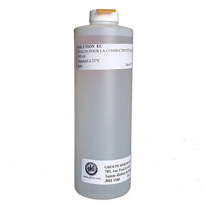 Image de Solution de calibration pour EC mètre 1413 uS/cm  500 ml