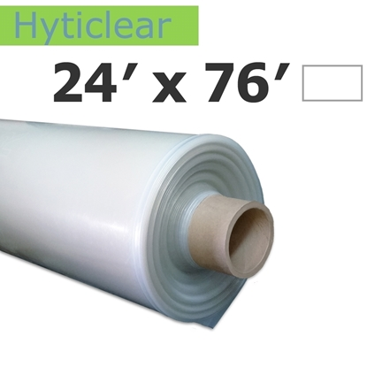 Image de Poly Hyticlear 7.2 mil 24' x 76'